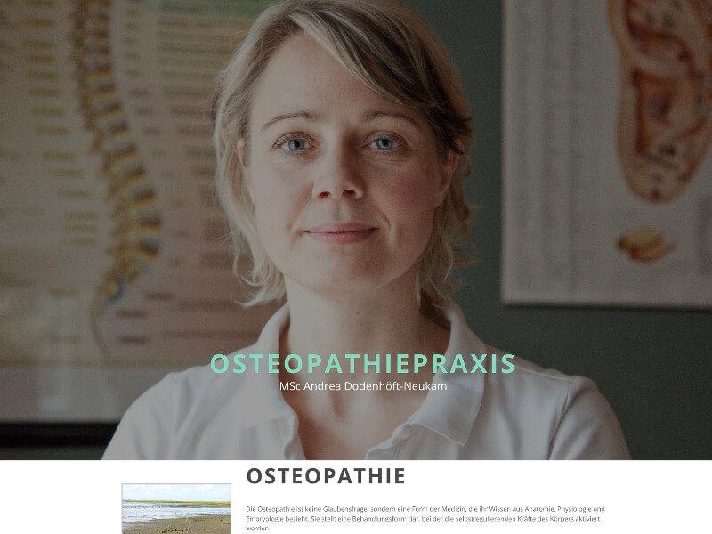Osteopathie Neuendettelsau Screenshot