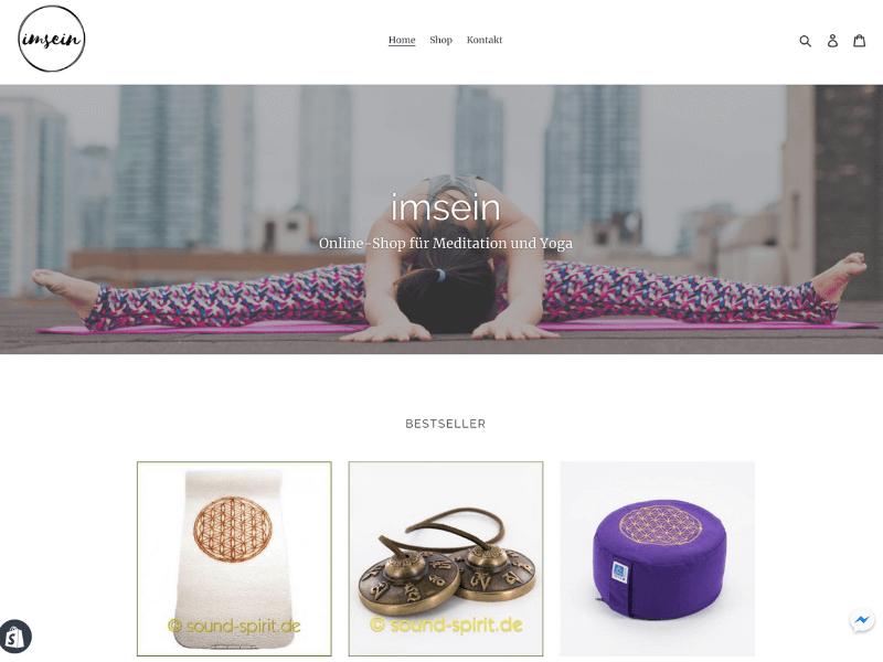 imsein Shop Screenshot