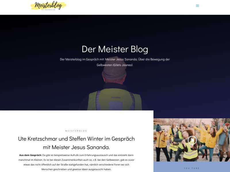 Meisterblog Gelbwesten Screenshot