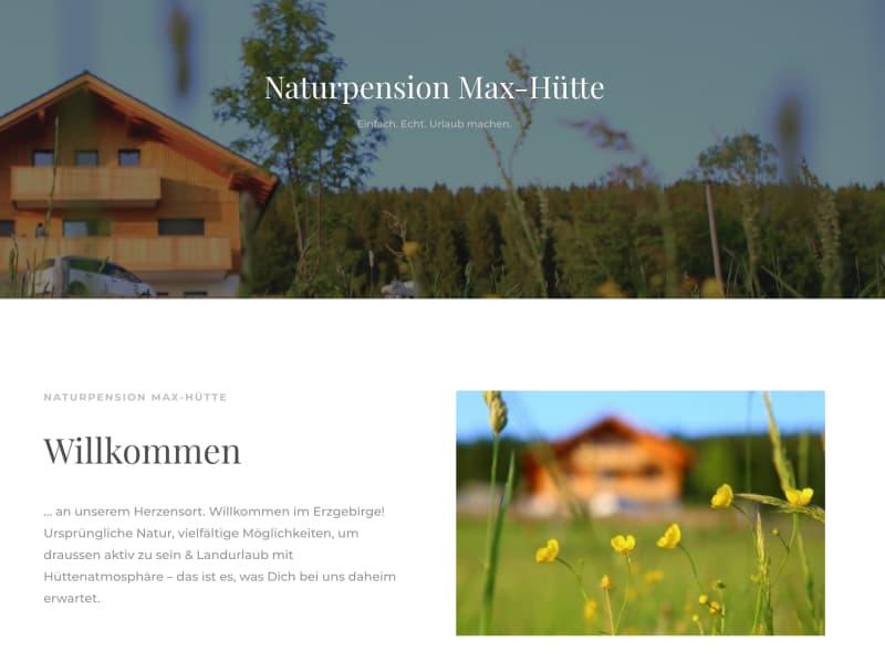 Ferienwohnung Maxhütte im Erzgebirge